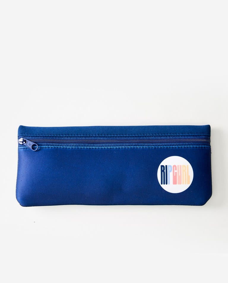 Surf Revival Pencil Case  in Navy