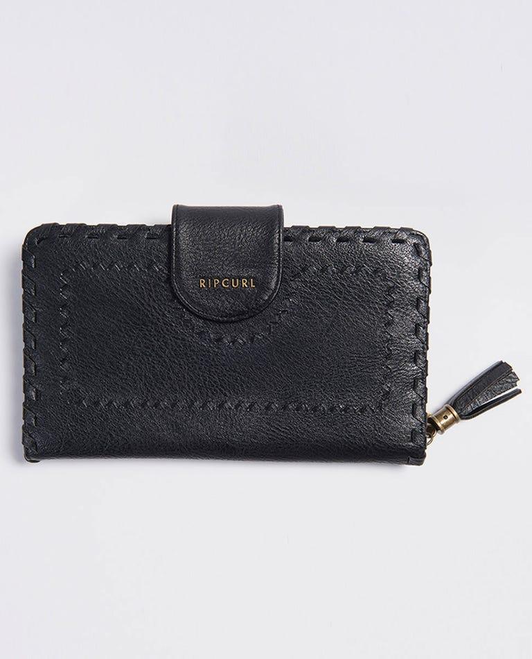 Manhattan RFID Travel Wallet in Black