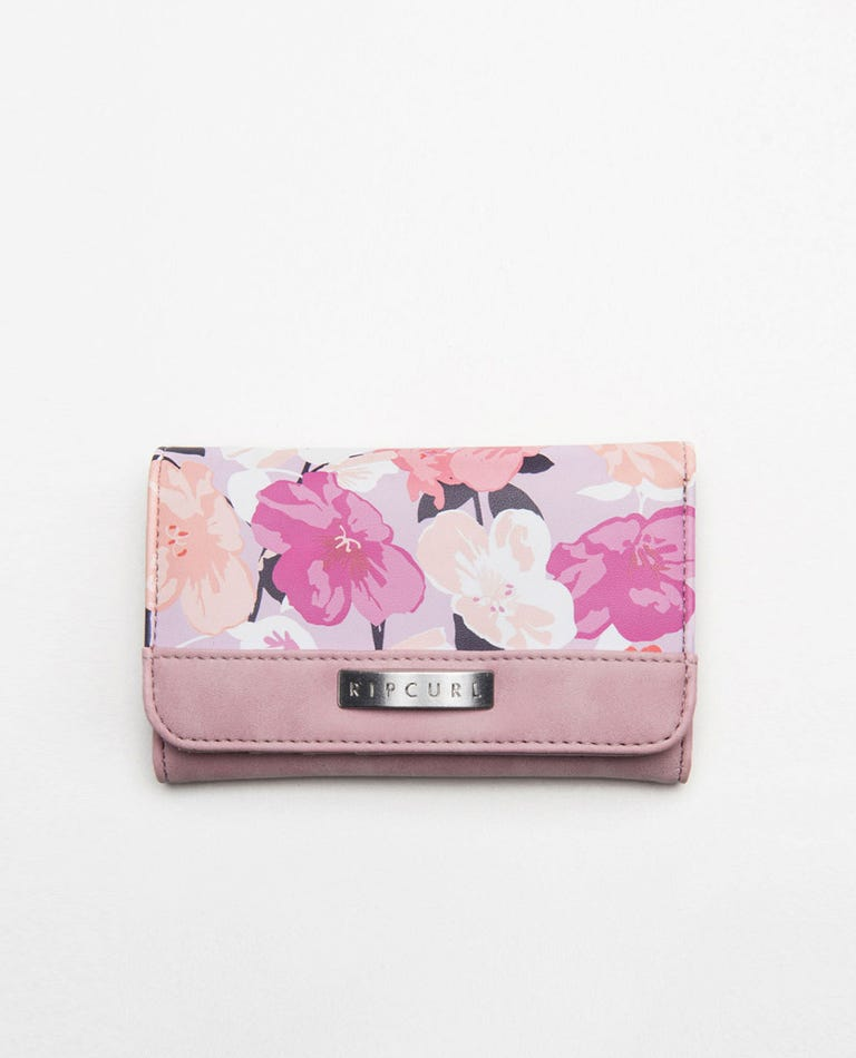 Lake Shore Mid Wallet in Lilac