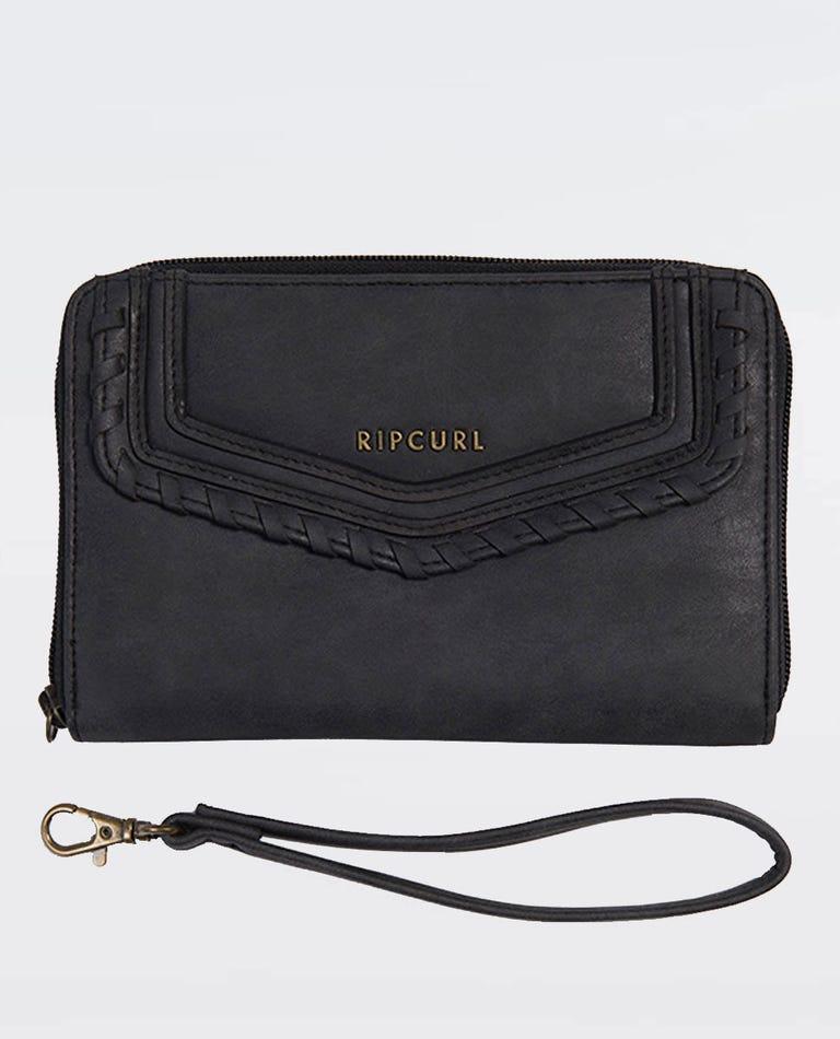 Bronx Oversized Wallet in Black