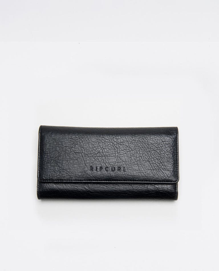 Spice Temple Phone Wallet in Black