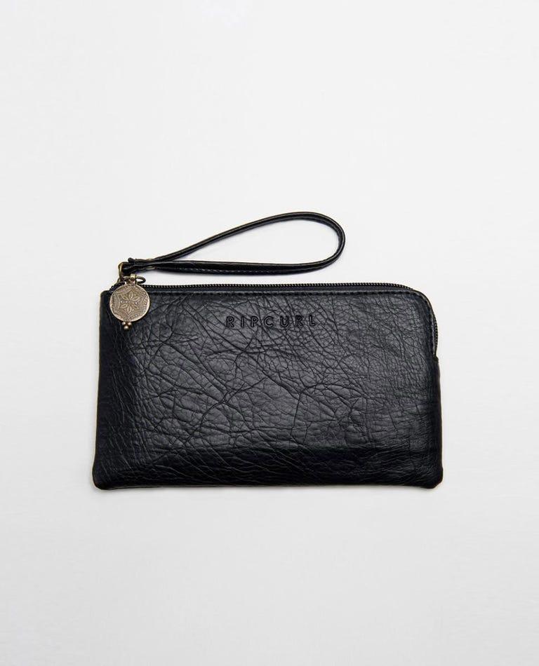 Spice Temple Wristlet Wallet  in Black