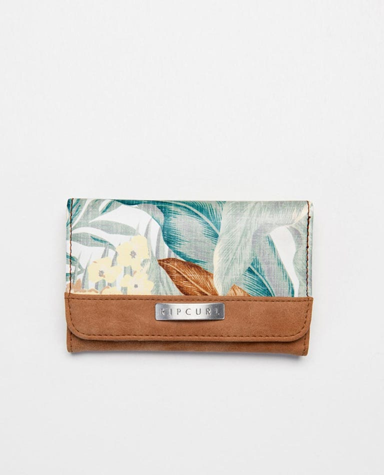 Tropic Sol Mid Wallet in White