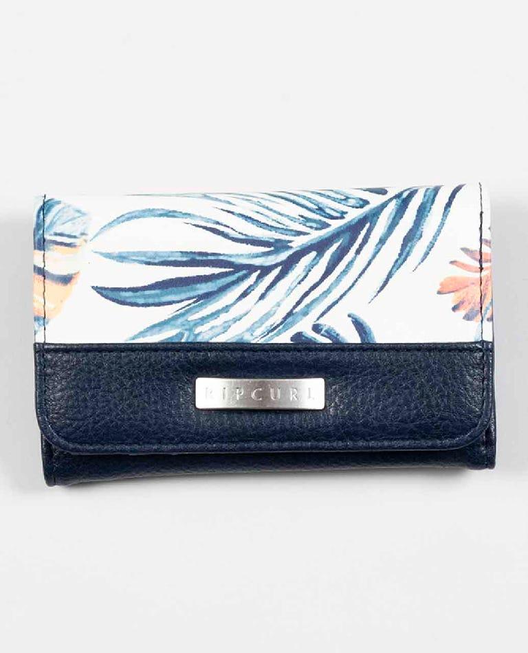 Sayulita Mid Wallet in Dark Blue