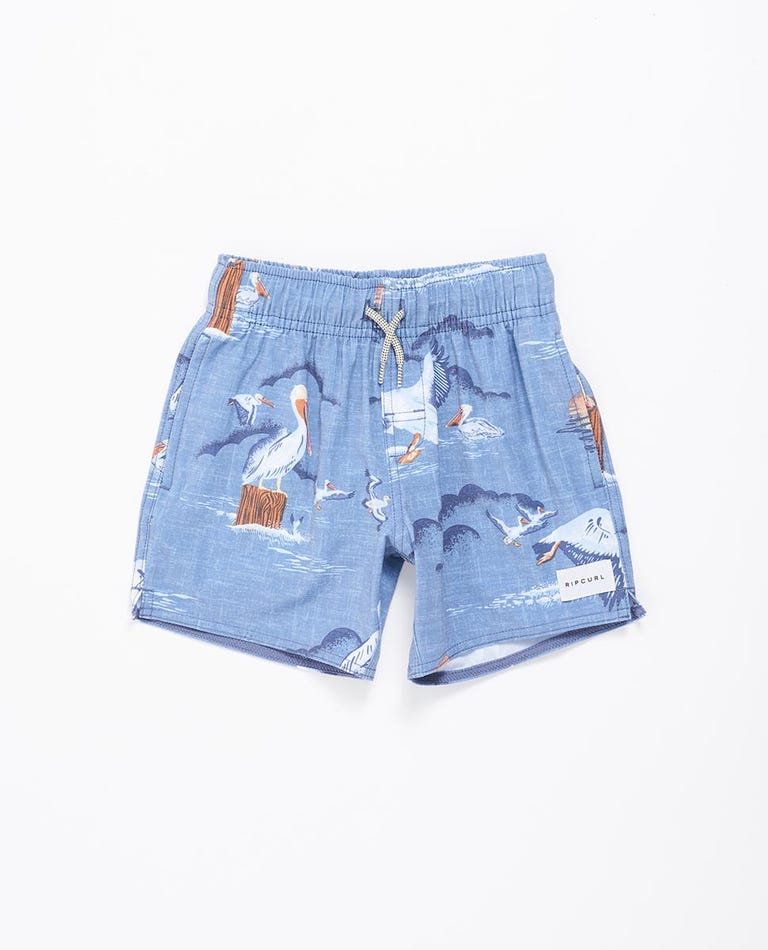 Paradise Party Volley Boardshort Boys (0 - 6 years) in Navy