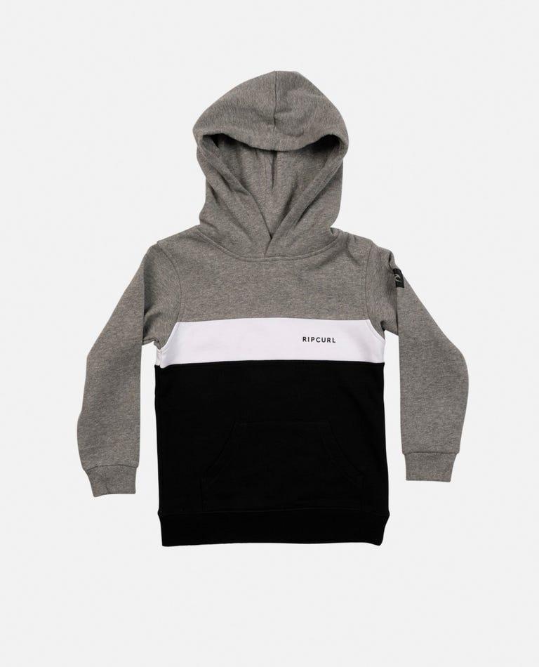 Undertow Panel Hood - Boys (0 - 6 years) in Black
