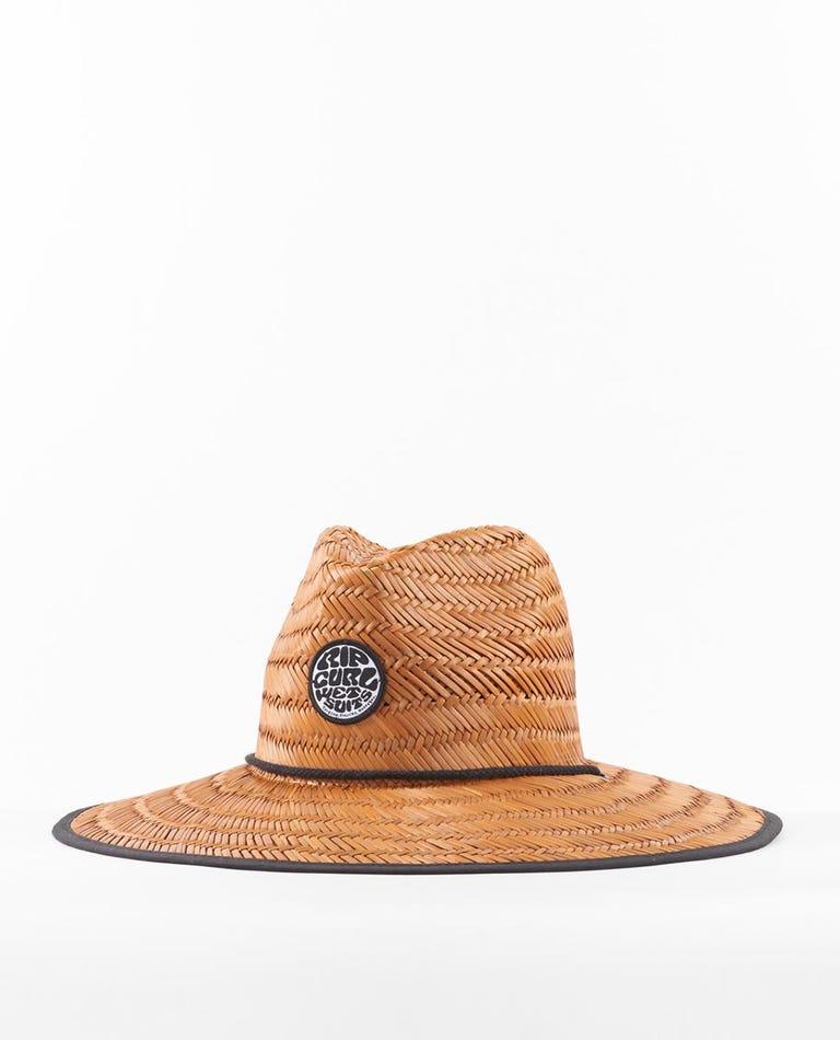 Wetty Straw Hat - Grom Mini Boys in Brown
