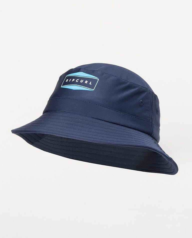 Beach Day Hat- Boy in Navy