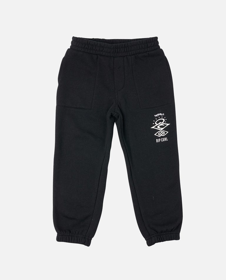 Search Logo Trackpant - Boys (0 - 6 years) in Black