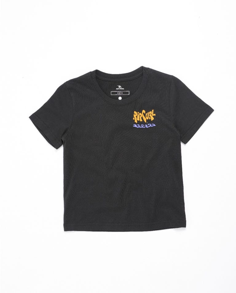 Salad Surfer Tee - Boys (0-6 years) in Black