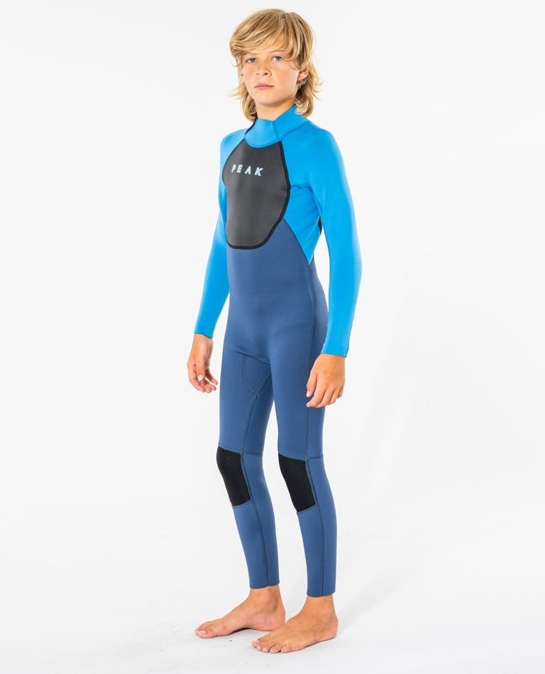 Peak Junior Energy 3/2 GB Sealed Wetsuit in Blue