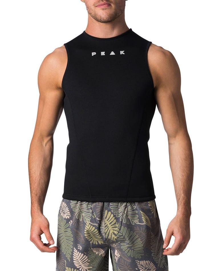 Peak Energy Sleeveless Wetsuit Vest in Black