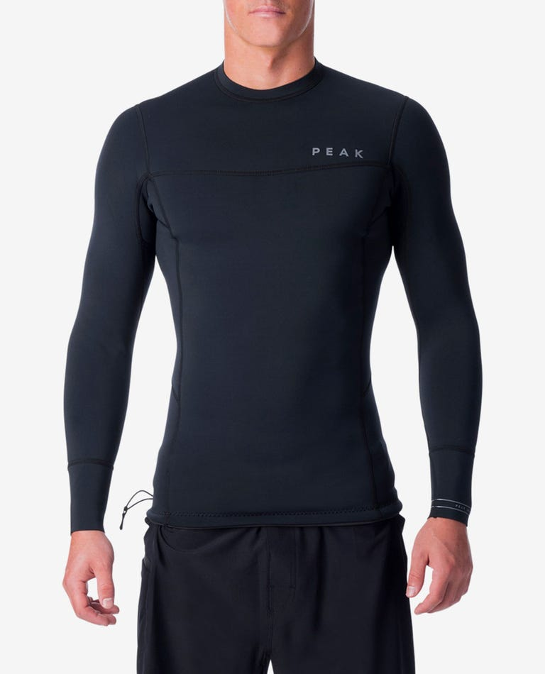 Climax Pro 1MM Long Sleeve Wetsuit Jacket in Black
