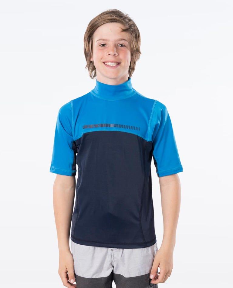 Boys Short Sleeve UV Tee in Blue
