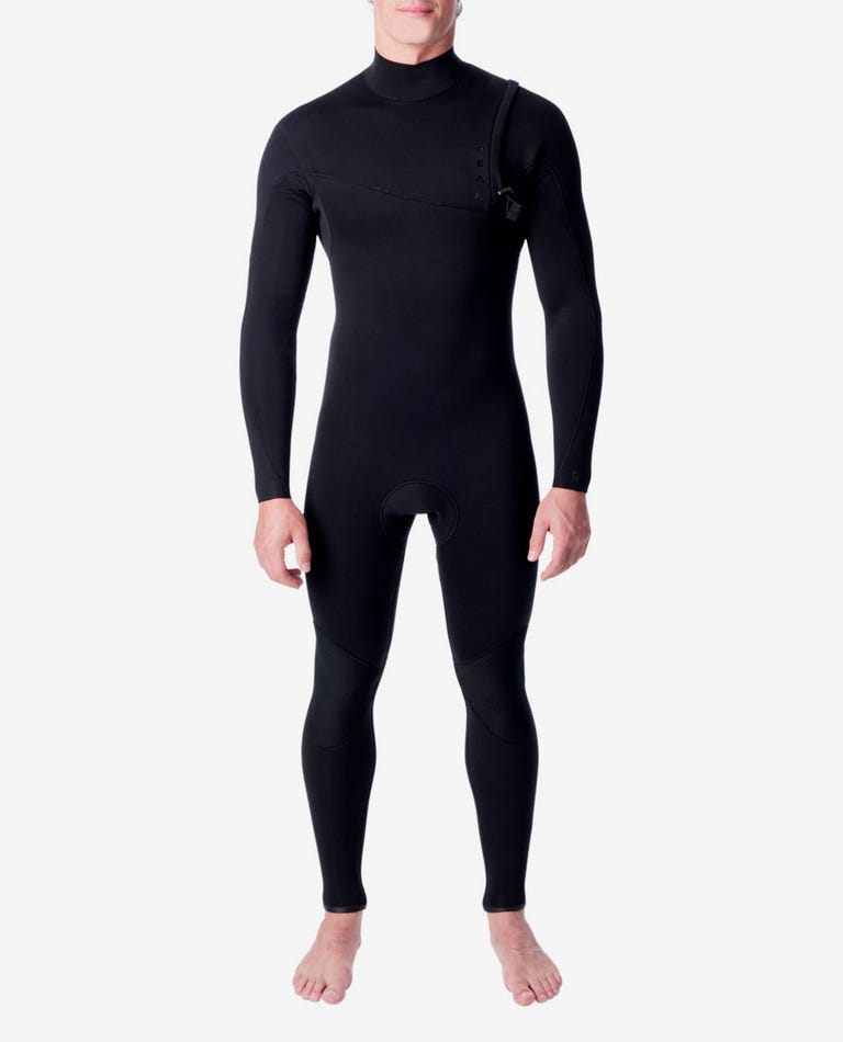 Climax Pro Zip Free 4/3 GB Wetsuit Steamer in Black