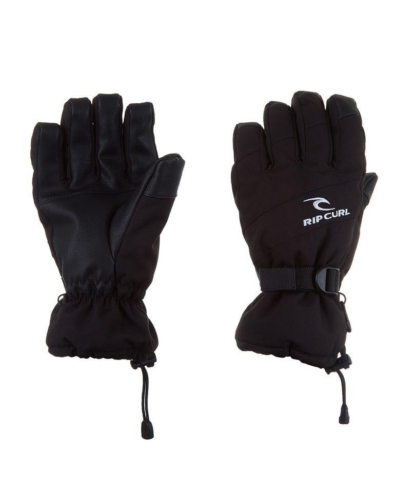 Rider Mountainwear Snow Gloves Men in Jet Black