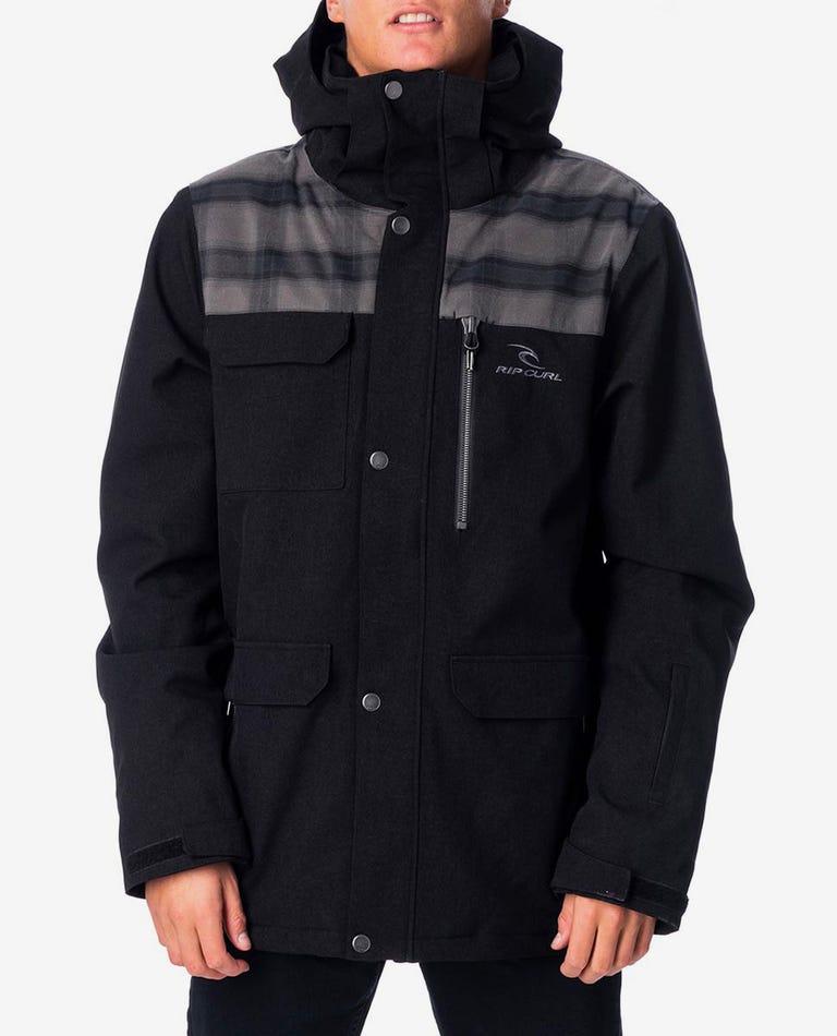 Cabin Mountainwear Snow Jacket in Jet Black