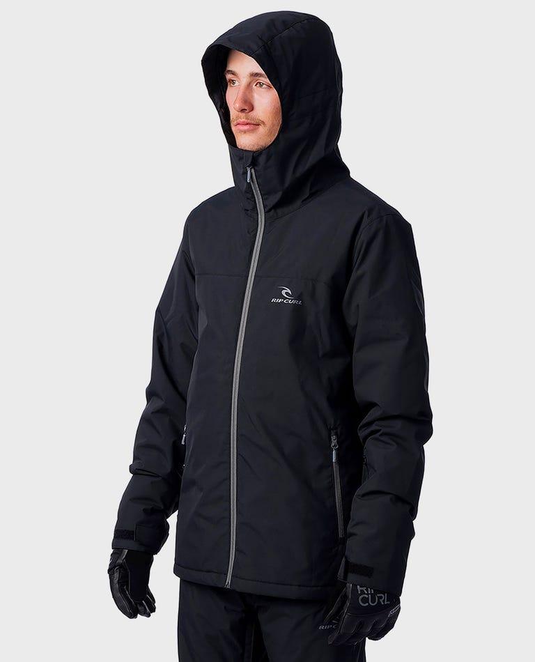 Enigma Mountainwear Snow Jacket in Jet Black