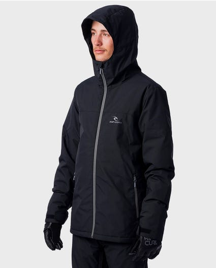 Enigma Mountainwear Snow Jacket in Jet Black