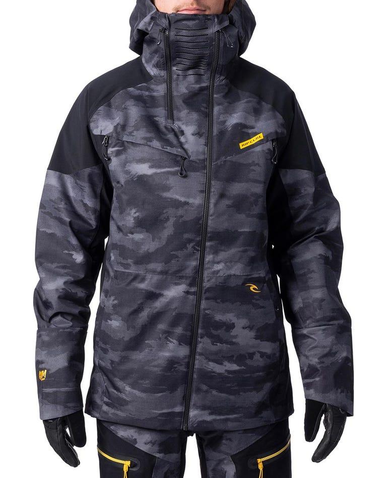 Pro Gum Snow Jacket  in Steel Grey