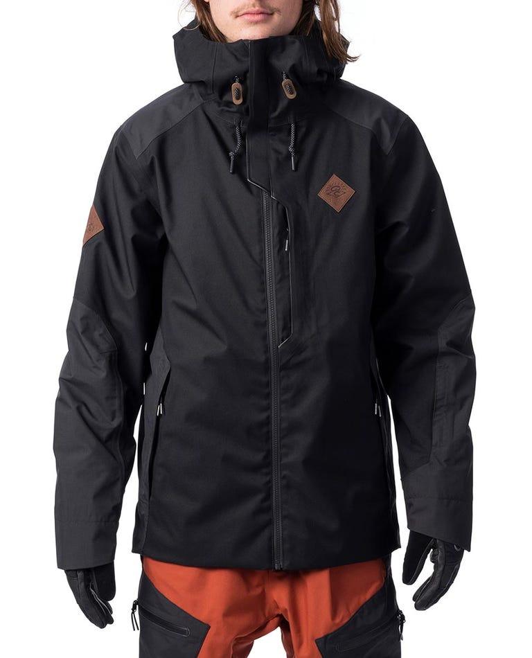 Search Snow Jacket  in Jet Black