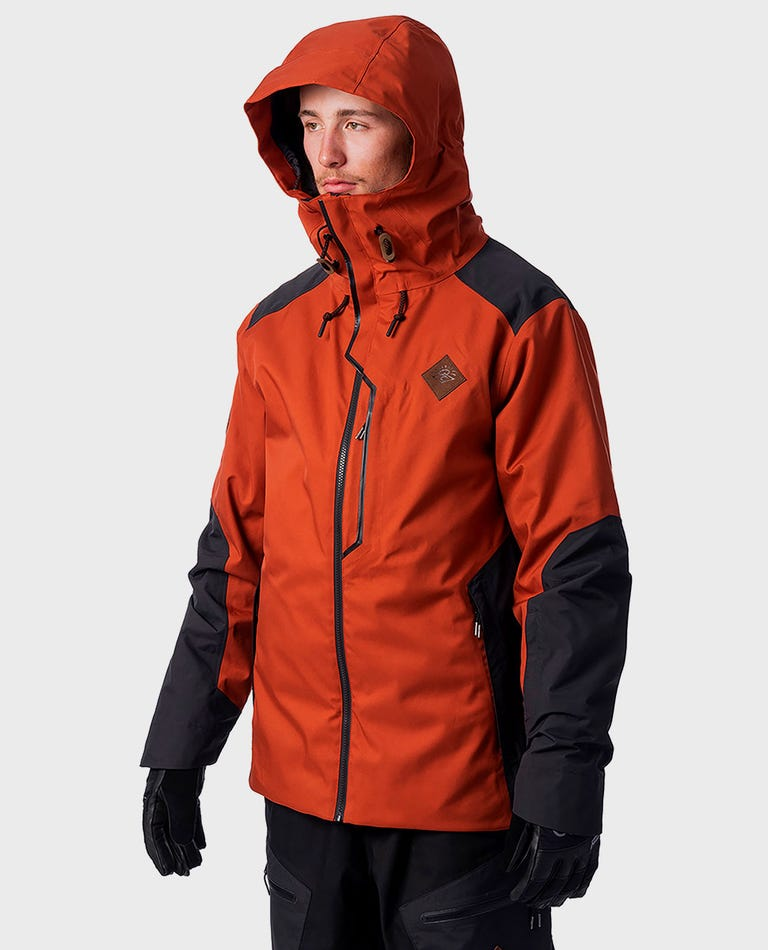 Search Snow Jacket  in Arabian Spice