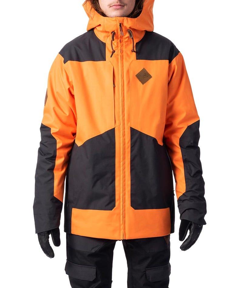 Pow Snow Jacket  in Persimon Orange