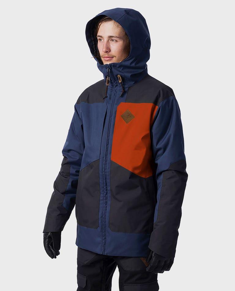 Pow Snow Jacket  in Indigo