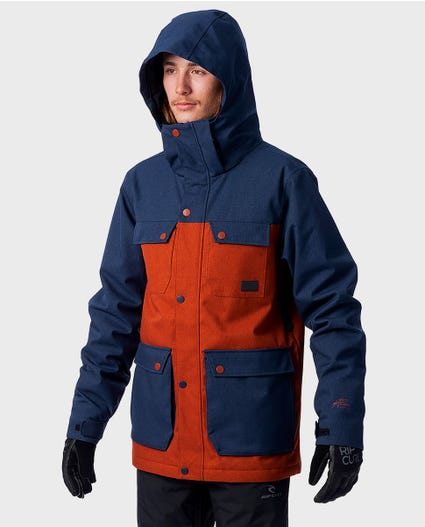 Cabin Snow Jacket in Arabian Spice