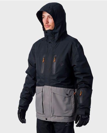 Palmer Snow Jacket in Jet Black