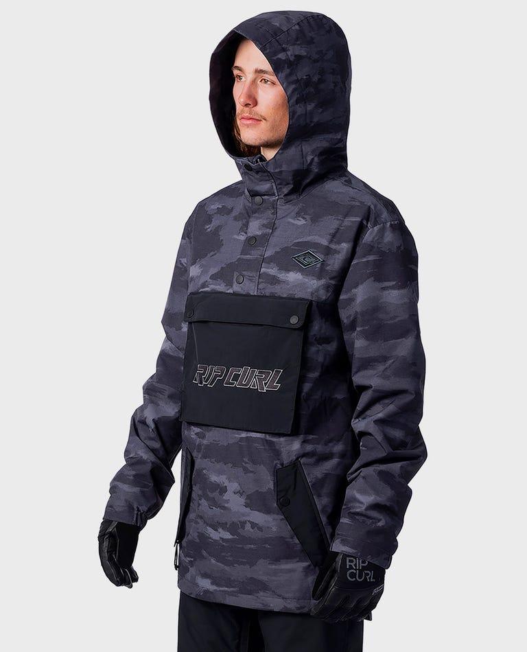 Primitave Anorak Snow Jacket  in Steel Grey