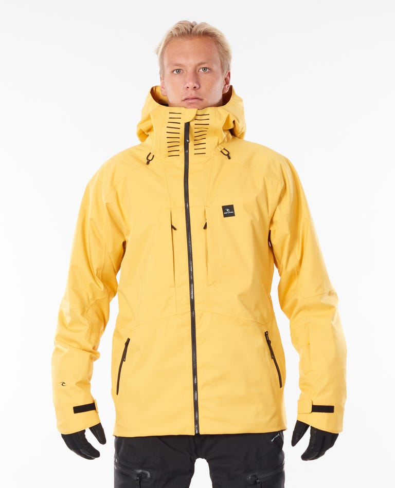 Freeride Search Snow Jacket in Yellow