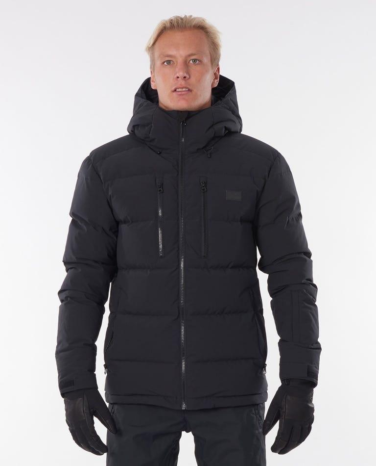 Blaze Down Snow Jacket in Black