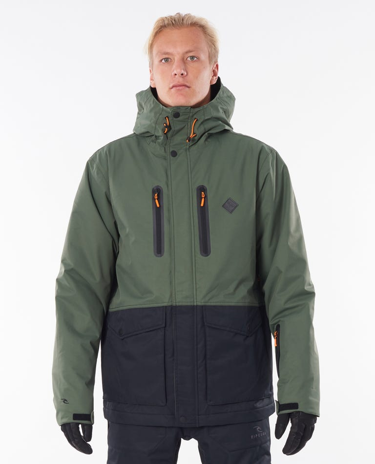 Palmer Snow Jacket in Forest Green