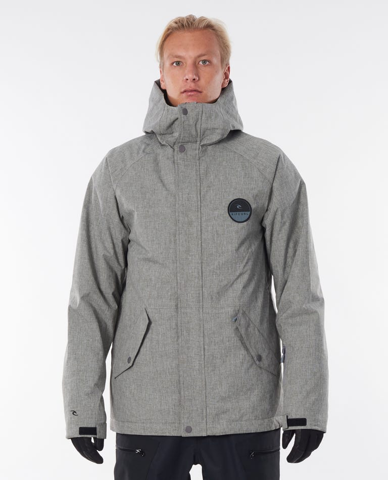 Notch Up Snow Jacket in Grey Marle