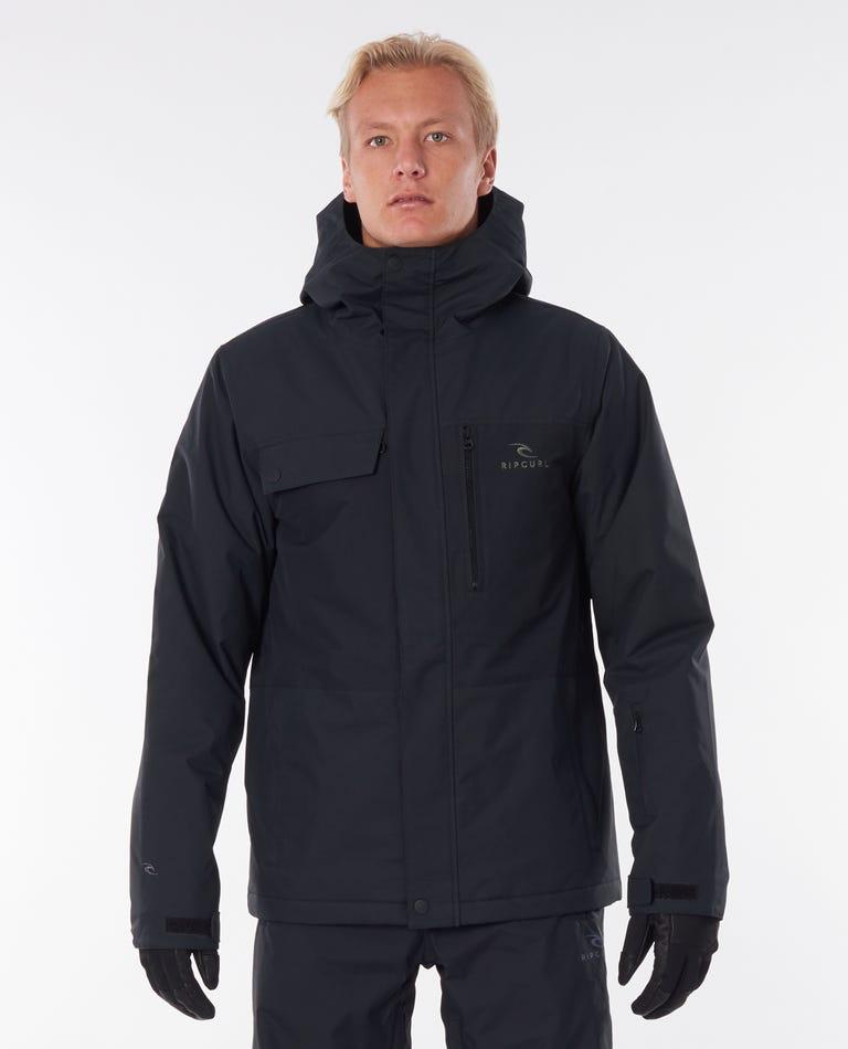 Twister Snow Jacket in Black
