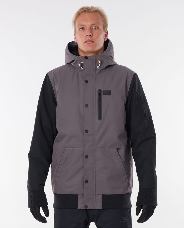 Traction Snow Jacket in Grey