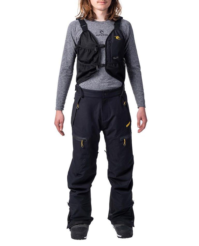 Pro Gum Snow Pants  in Jet Black