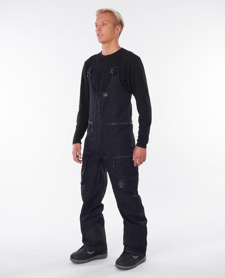 Search Bib Snow Pant in Black