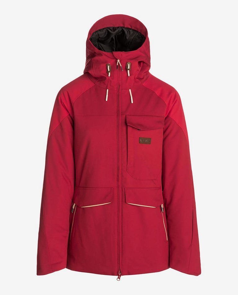 Harmony Mountainwear Snow Jacket in Red Orchid