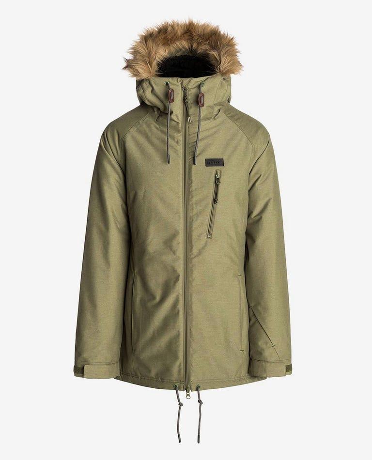W RCC Mountainwear Snow Jacket in Loden Green