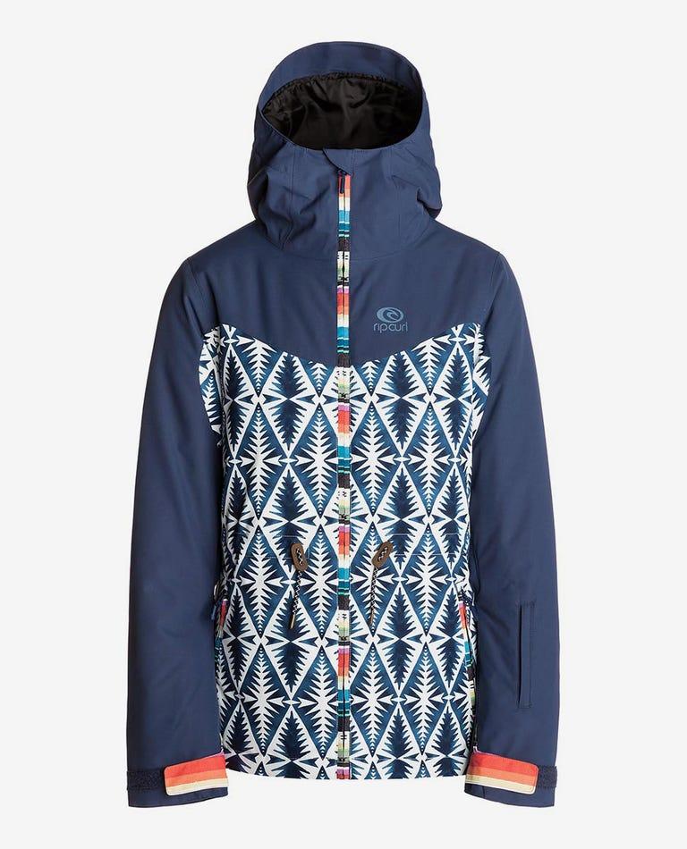Betty Snow PTD Mountainwear Snow Jacket in Optical White