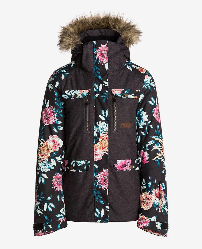 Chic Snow PTD Mountainwear Snow Jacket in Red Orchid