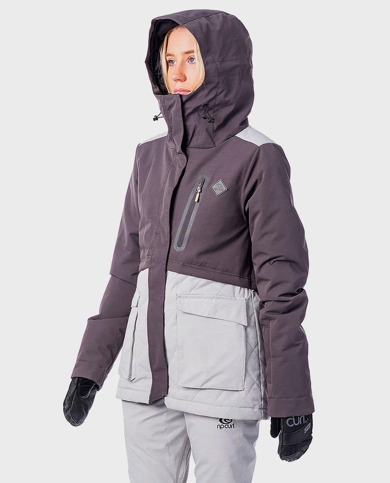 Particle Snow Jacket  in Jet Black