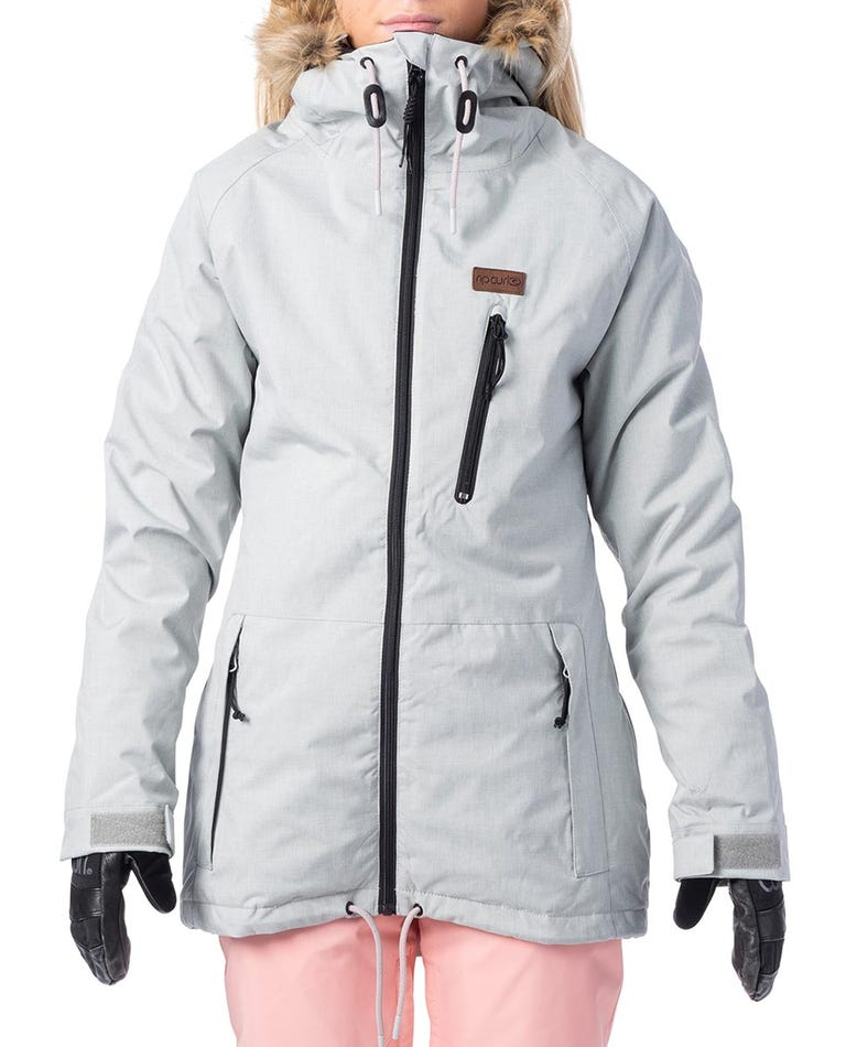 Annie Snow Jacket  in High Rise Grey
