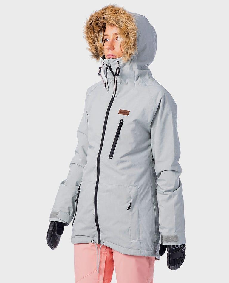 Annie Snow Jacket  in High Rise
