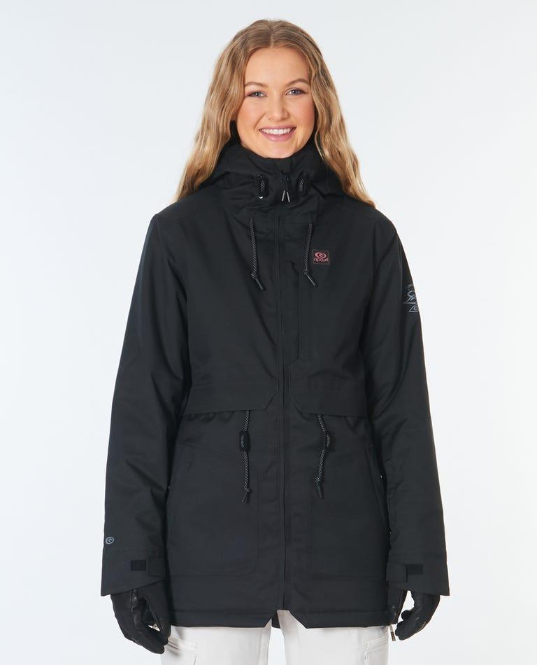 Womens Amity Snow Jacket in Black