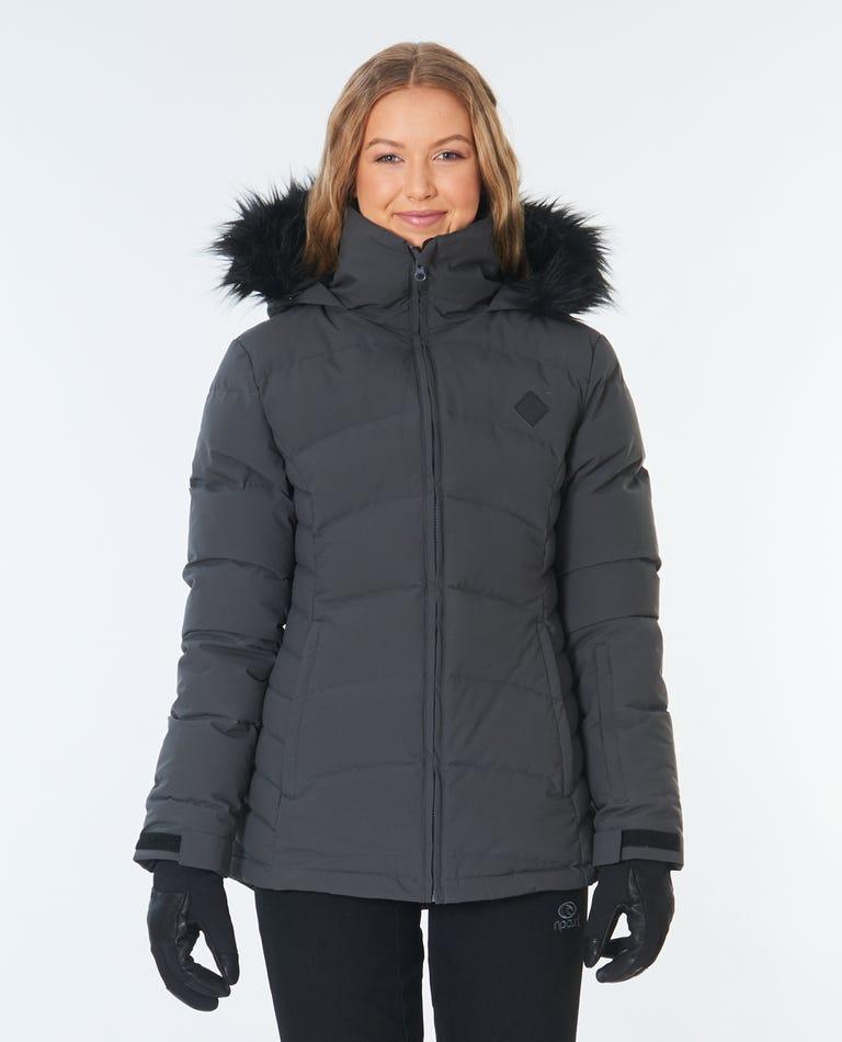 Thread Down Snow Jacket in Grey