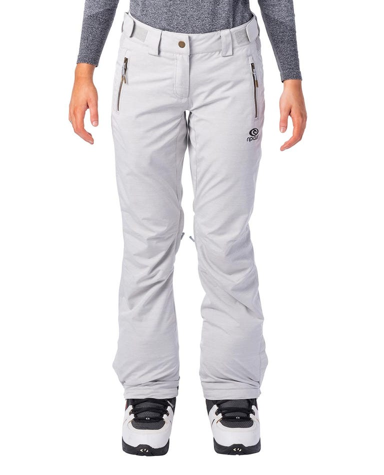Slinky Snow Pants  in High Rise Grey