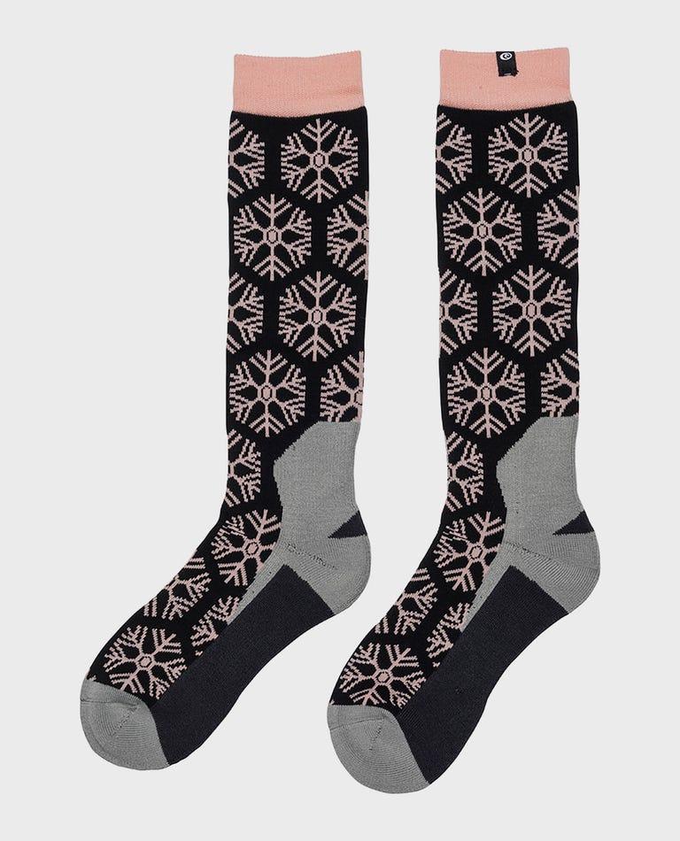 Womens Brash Socks  in Peach